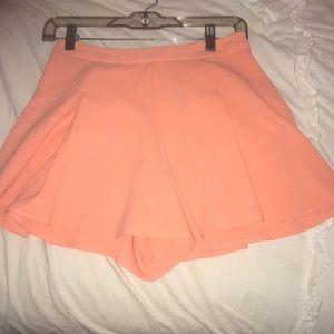 Lush Shorts - LUSH orange shorts/skort